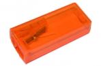 Точилка пластик контейнер FABER CASTELL флюор ассорти FC125FLV (581525) оптом
