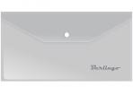 Папка-конверт на кнопке Berlingo, C6, 180мкм, матовая оптом