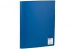 Папка 10 вклад. OfficeSpace, 8мм, 400мкм, синяя оптом