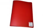 Папка с пружинным скоросшивателем A4 красная OfficeSpace, 15мм, 500мкм, оптом