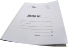 """Папка Дело OfficeSpace """"Дело"""", картон немелованный, 280г/м2, белый, до 200л. оптом"""