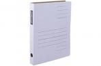 Скоросшиватель, микрогофрокартон, ширина 30 мм, белый, OfficeSpace оптом