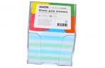 Блок для записи OfficeSpace, 9*9*9см, пластиковый бокс, цветной оптом