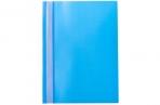 Скоросшиватель OfficeSpace, голубой А4, 160мкм, с прозр. верхом оптом
