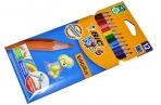 """Карандаши цветные 12цв., пластиковые Bic """"Evolution 93"""", заточен., картон, европодвес оптом"""