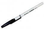 """Ручка шариковая Berlingo """"W-219"""" черная, 0, 7мм оптом"""