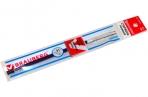 Стержень гелевый BRAUBERG 130мм, игольчатый пишущий узел 0.5 мм, линия 0, 35мм, синий, 170169 оптом