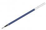 Стержень стираемый гелевый BRAUBERG 130мм, СИНИЙ, евронаконечник, узел 0.5 мм, линия 0, 38мм, 170360 оптом