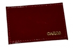 Обложка-карман для карт и пропусков OfficeSpace, 95*65мм, кожа тип 2, ассорти оптом