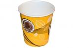 """Стакан одноразовый бумажный d-80мм, 250мл, Huhtamaki """"Кофе с собой"""" оптом"""