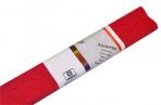 Бумага цветная креповая 50*250см WEROLA плотн 32г рубин оптом