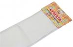 Бумага цветная креповая 50*250см 32/м2 белый е/п ЭКСМО КБ003 оптом