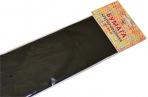 Бумага цветная креповая 50*250см 32/м2 черный е/п ЭКСМО КБ031 оптом