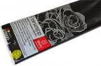 Бумага цветная креповая 50*250см плотн 32г черный е/п WEROLA 12800-199 оптом