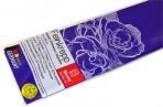 Бумага цветная креповая 50*250см плотн 32г ультрамарин е/п WEROLA 12800-122 оптом
