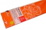 Бумага цветная креповая 50*250см плотн 32г оранжевый е/п WEROLA 12800-109 оптом