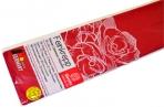 Бумага цветная креповая 50*250см плотн 32г бордовый е/п WEROLA 12800-131 оптом