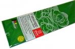 Бумага цветная креповая 50*250см плотн 32г зеленый е/п WEROLA 12800-148 оптом
