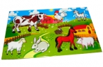 Наклейки Ферма рисованные А6 оптом