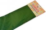Бумага цветная креповая 50*250см 32/м2 зеленый е/п ЭКСМО КБ009 оптом