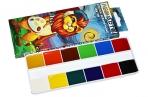 Краски акварельные POLIPAX 12 цветов, медовые, без кисти, картонная коробка, европодвес, ш/к-40256 оптом