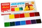 Краски акварельные ПИФАГОР МЕДОК, 14 цветов, медовые, без кисти, картонная коробка, 191320 оптом
