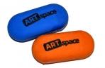 Ластик ArtSpace, овальный, термопластичная резина, 35*15*10мм оптом