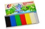 """Пластилин 6 цв., 81г, классический ЛУЧ """"Zoo"""",  картонная коробка, 19С1271-08 оптом"""