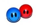 Мяч «Смайлик», мягкий, 4, 5 см, цвета МИКС оптом