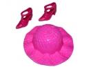 Аксессуары для кукол: шляпа, туфли, МИКС оптом