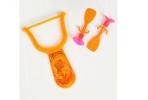 Рогатка «Головоломка», 2 присоски, цвета МИКС оптом