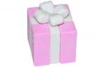 "Ластик Hatber ""Подарок"", фигурный, термопластичная резина, 35*30*30мм оптом"
