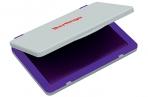 Штемпельная подушка Berlingo, 100*80мм, фиолетовая, пластиковая оптом