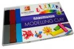 """Пластилин классический ЛУЧ """"Классика"""", 16 цв., 320г, со стеком,  картонная упаковка, 20С1329-08 оптом"""