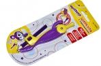 Циркуль ЮНЛАНДИЯ пластиковый с карандашом, 140мм, блистер, 210653 оптом