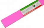 Бумага цветная креповая розовая, 50*250см с32г/м2, в рулоне, Greenwich Line оптом