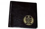 Альбом для монет OfficeSpace 105*105 на 52 монеты, 8 листов, комбинированный, карманный, ПВХ оптом