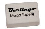 """Ластик Berlingo """"Mega Top"""", прямоугольный, натуральный каучук, 26*18*8мм оптом"""