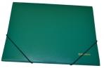 Папка на резинках BRAUBERG Стандарт, зеленая, до 300 листов, 0.5 мм, оптом