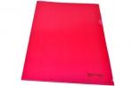 Папка-уголок жесткая BRAUBERG красная 0, 15мм, 221640 оптом