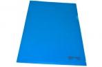 Папка-уголок жесткая BRAUBERG синяя 0, 15мм, 221642 оптом