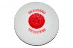 "Ластик BRAUBERG ""Energy"", круглый, пластиковый держатель, диаметр 30 мм, белая, 222472 оптом"