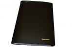 Папка 30 вклад. BRAUBERG Бюджет, черная, 0.5 мм, оптом