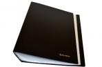 Папка 100 вклад. BRAUBERG Бюджет, черная, 0, 8мм, оптом