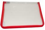 Папка на молнии пластиковая А4, прозрачная, размер 320*230мм, ПМ-А4-01/01 (ш/к-0118) оптом