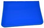 Папка на молнии пластиковая А4, матовая, синяя, размер 320*230мм, ПМ-А4-11/3 (ш/к-0231) оптом