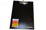 Планшет А4 с крышкой плотн., черный до 80л, 1, 5мм, BRAUBERG Contract оптом