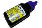 Краска штемпельная BRAUBERG фиолетовая 45 мл, на водной основе, 223596 оптом