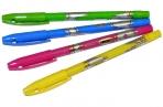 "Ручка шар синяя, 0, 7мм, корпус ассорти, Berlingo ""Blitz"" оптом"