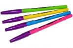 """Ручка шариковая синяя, 0, 7мм, ассорти Berlingo """"W-219 Color"""" оптом"""